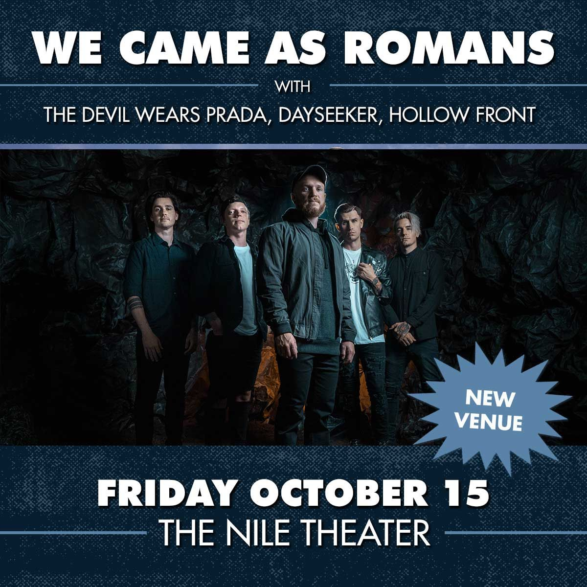 WE CAME AS ROMANS: