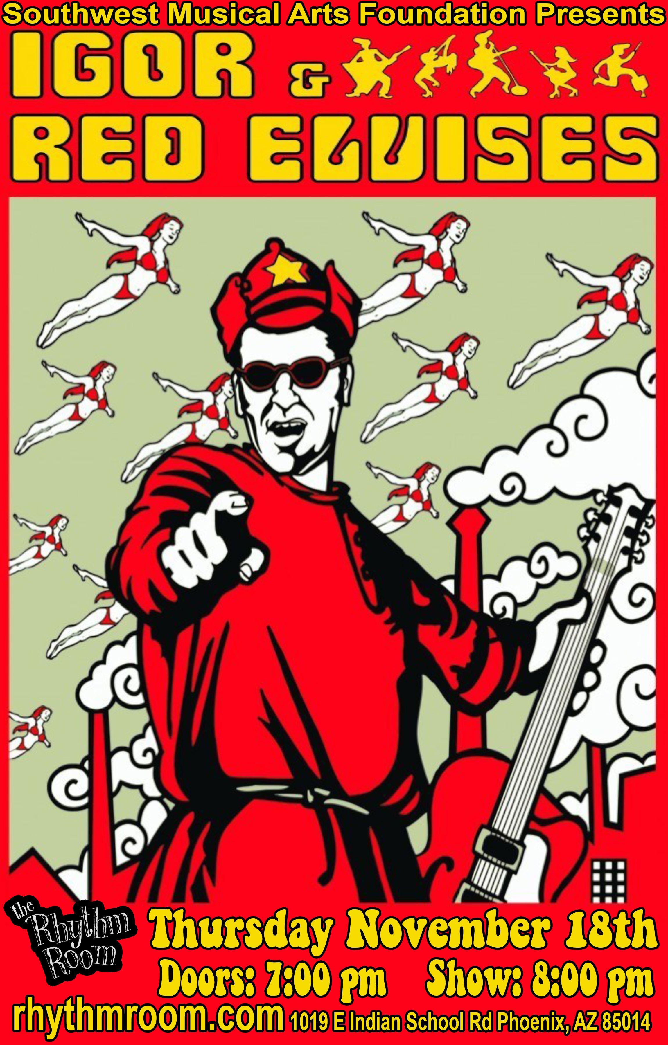 RED ELVISES: