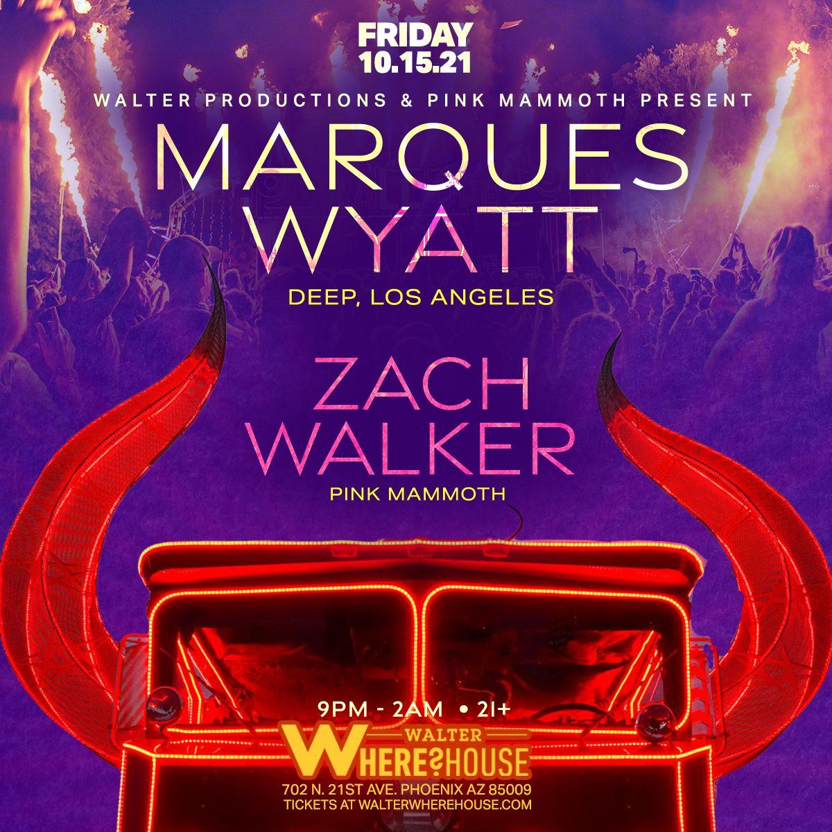 Marques Wyatt (Deep, LA) & Zach Walker at Walter Where?House: