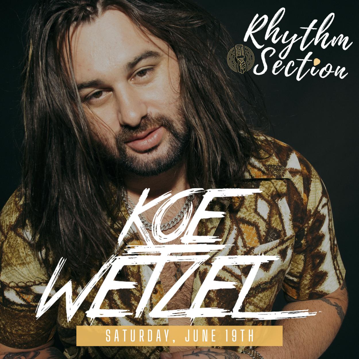 Koe Wetzel: Main Image