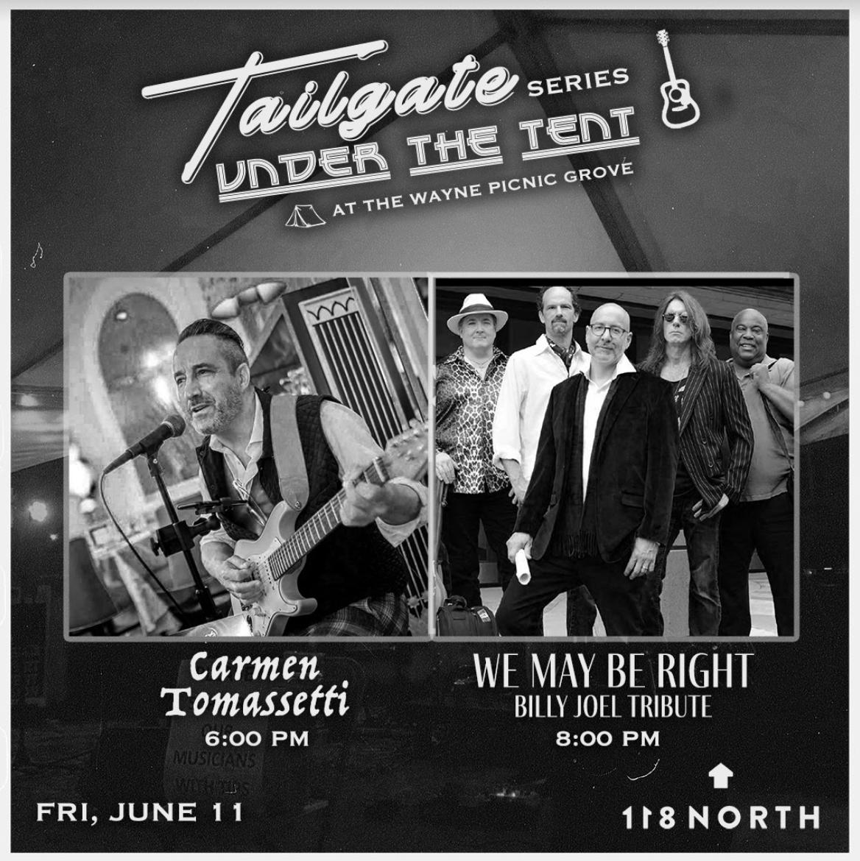 We May Be Right (Billy Joel Tribute) + Carmen Tomassetti: Main Image