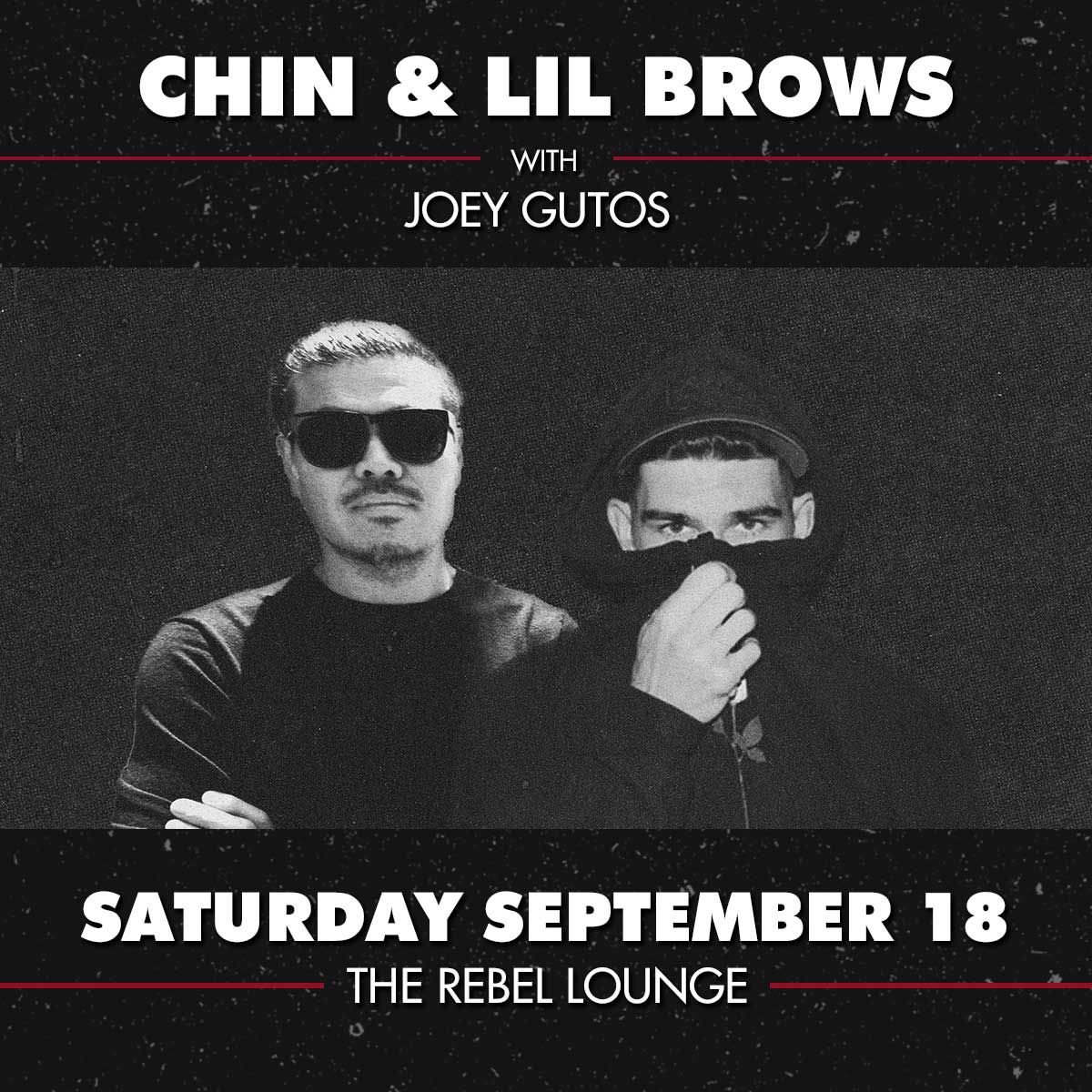 CHIN and LIL BROWS: