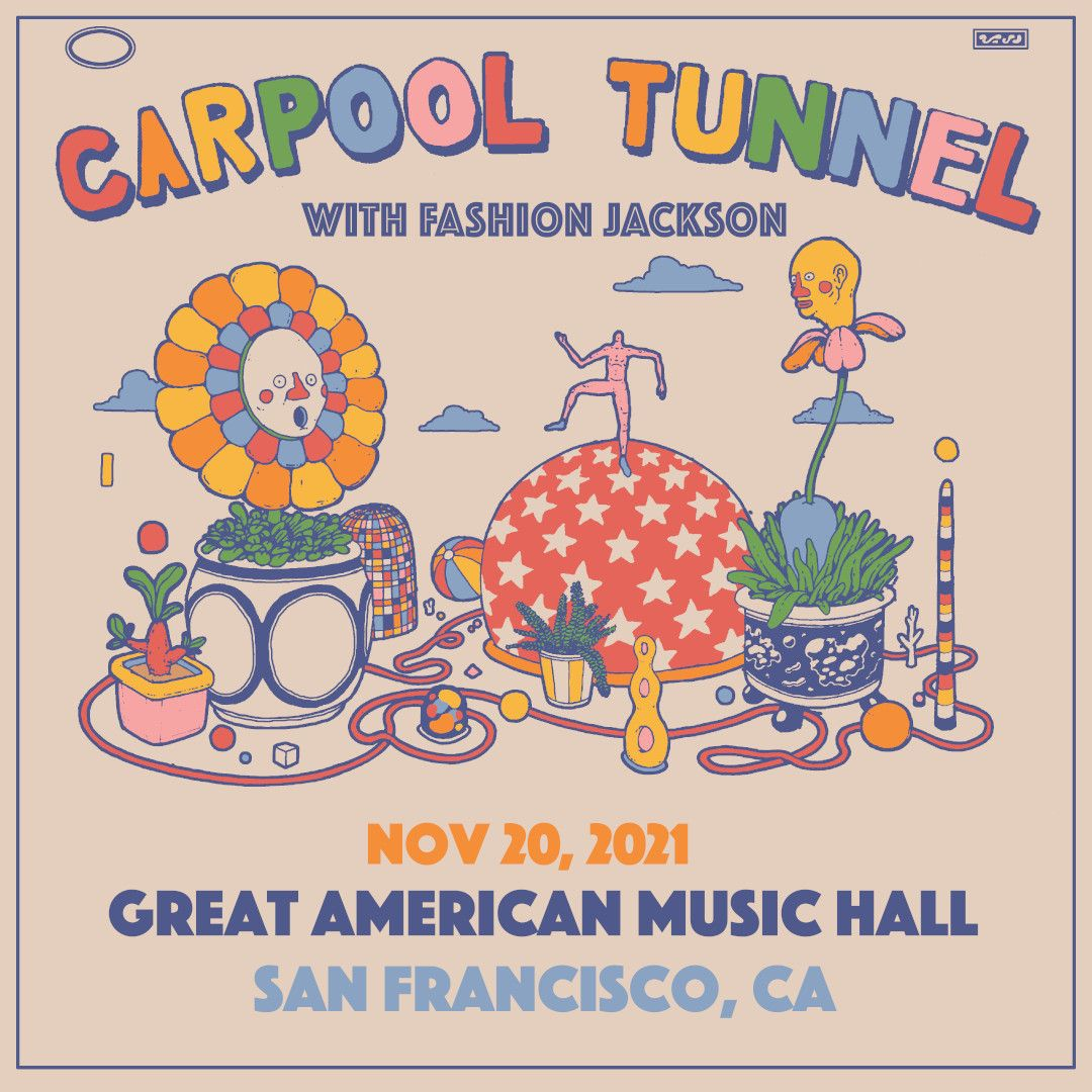 Carpool Tunnel with Fashion Jackson