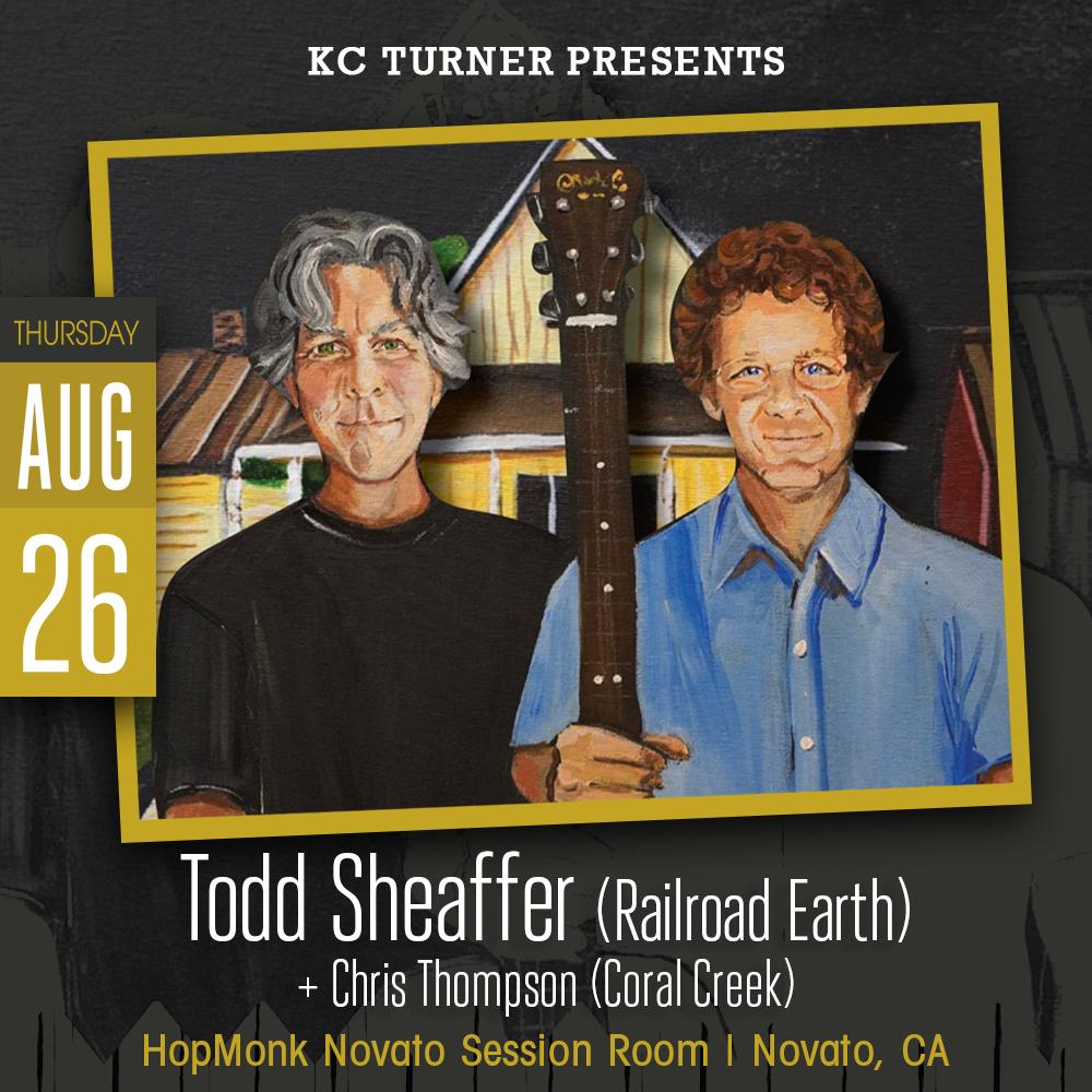 Todd Sheaffer (of Railroad Earth):