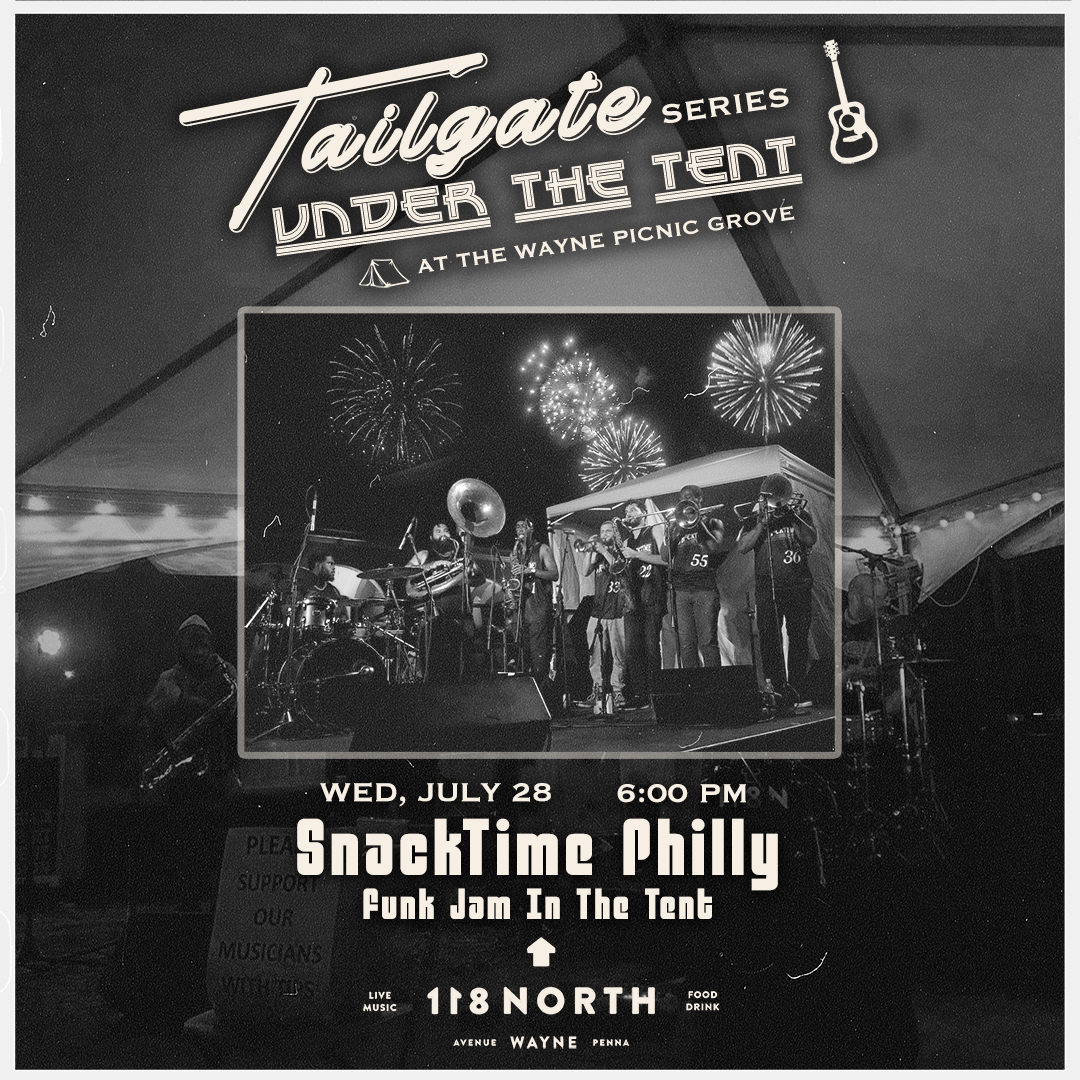 SnackTime Philly: Funk Jam in the Tent: Main Image