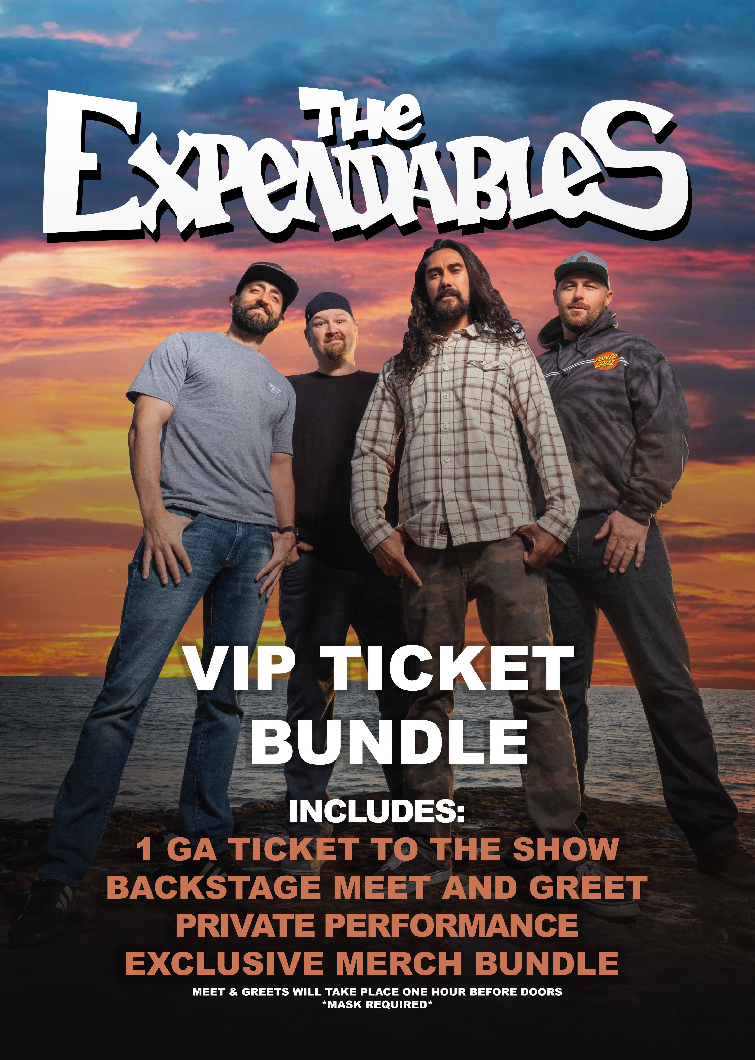 ExpendaHoo! VIP Package (The Expendables) at House of Rock: