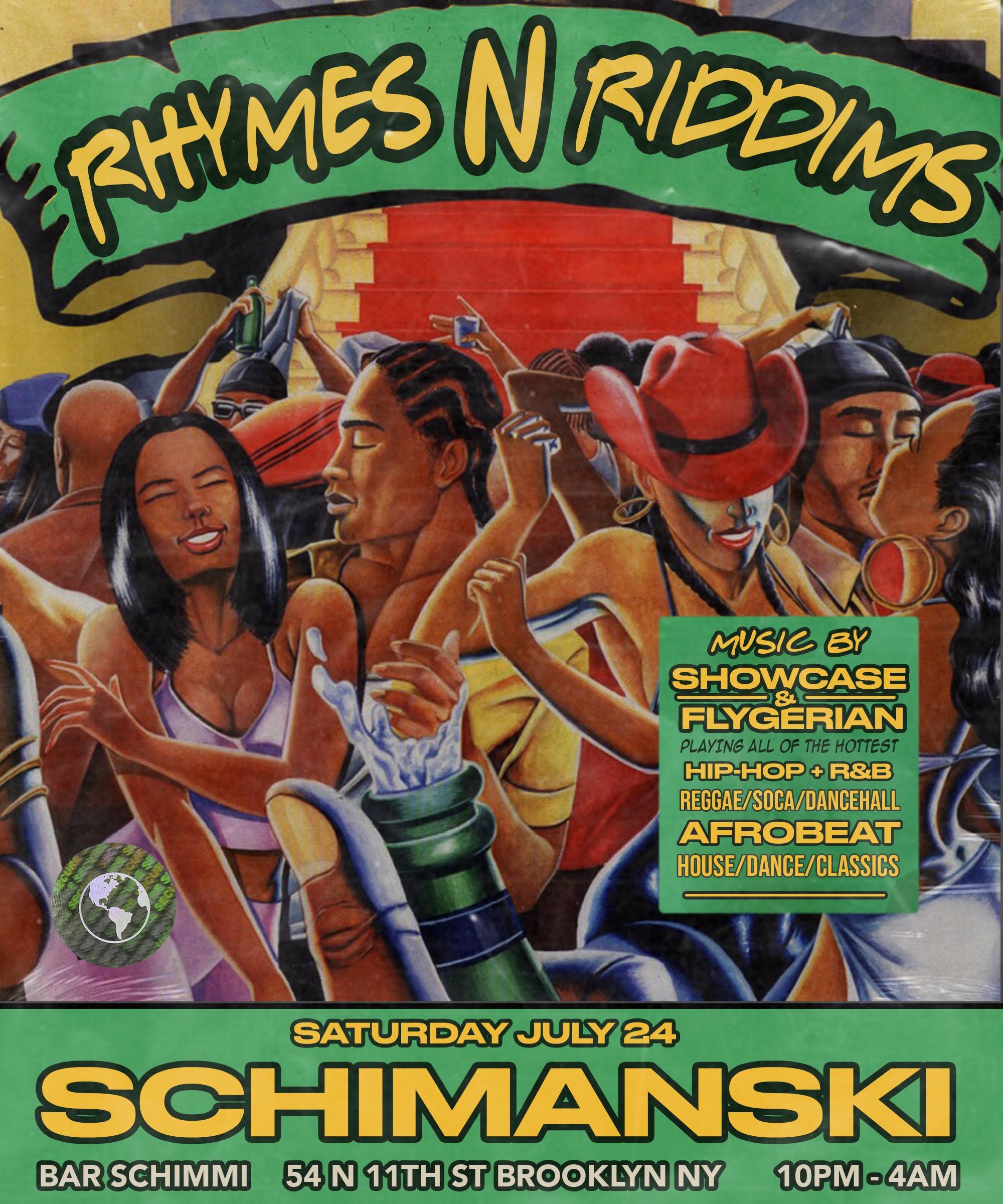 Rhymes N Riddims: Main Image