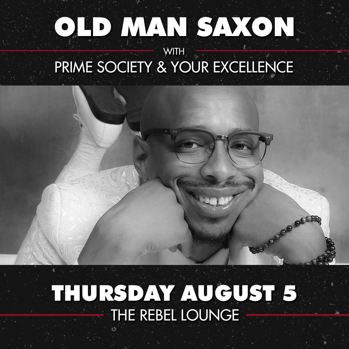 OLD MAN SAXON: