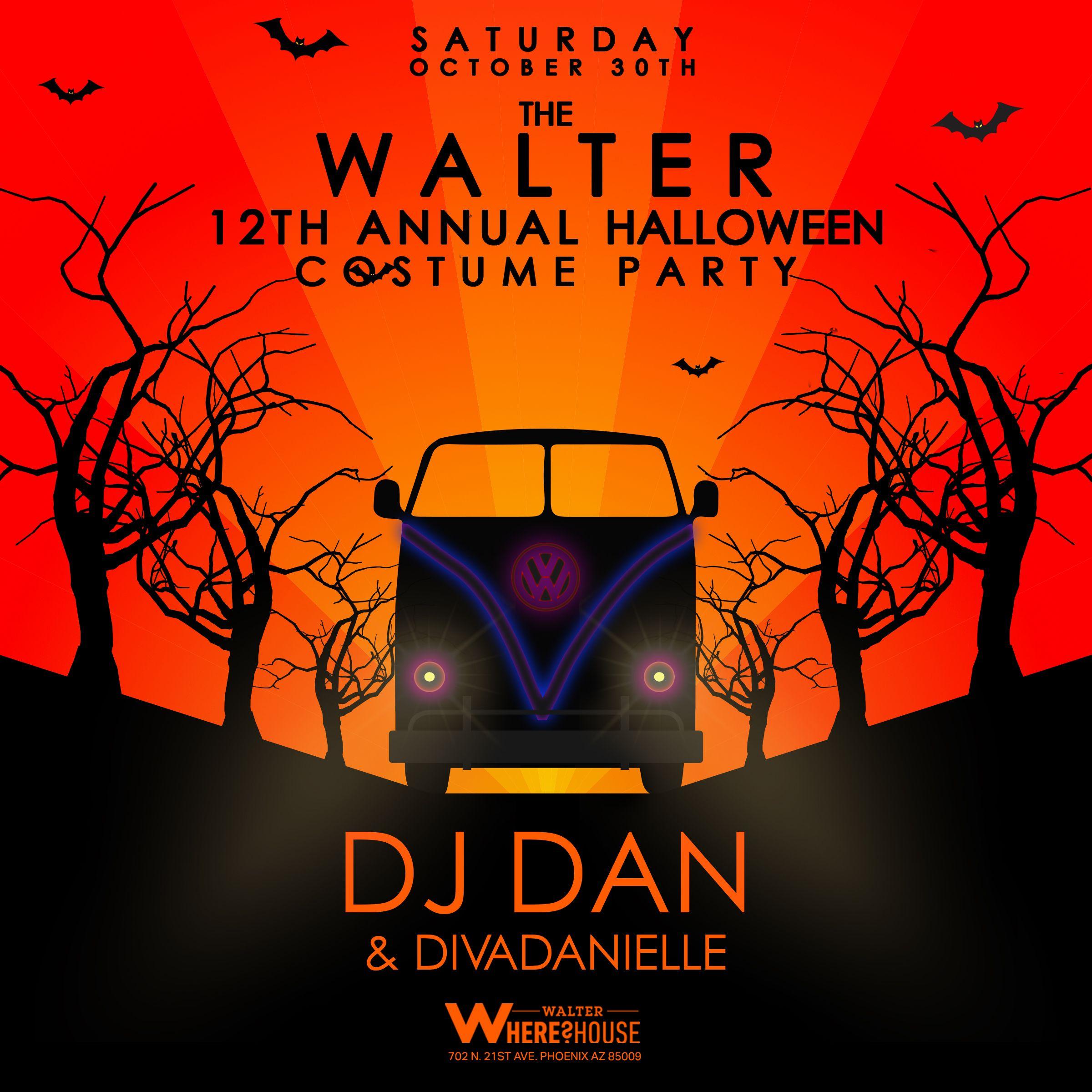 Walter 12th Annual Halloween Party: DJ Dan & divaDanielle: