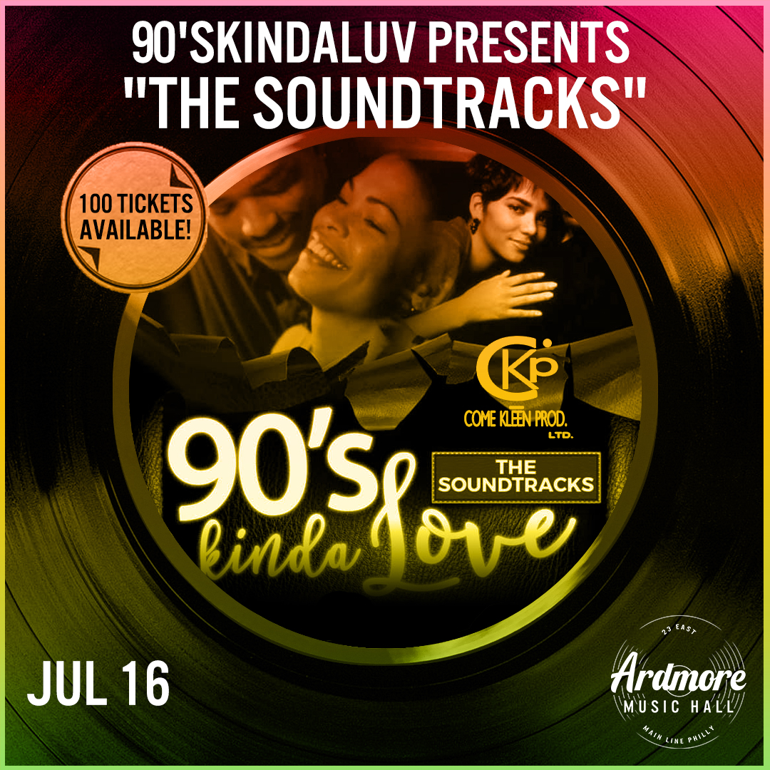 "90'sKindaLuv presents ""The Soundtracks"": Main Image"