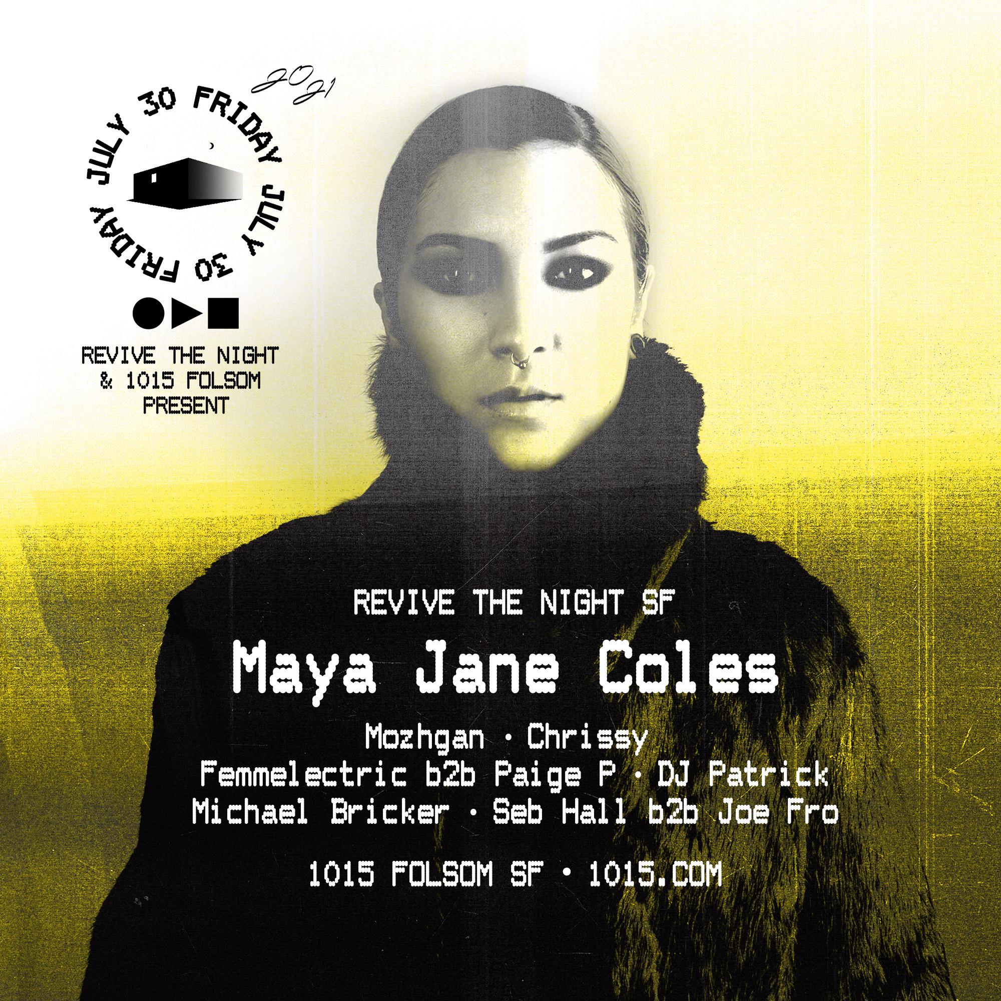 Maya Jane Coles: Main Image