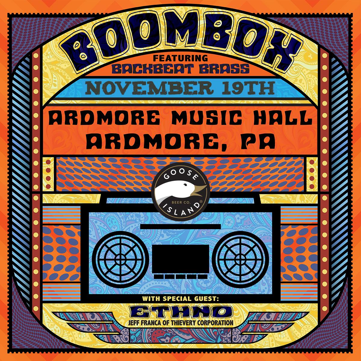 BoomBox ft. BackBeat Brass: Main Image