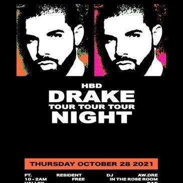 DRAKE NIGHT with DJ Aw.Dre-img