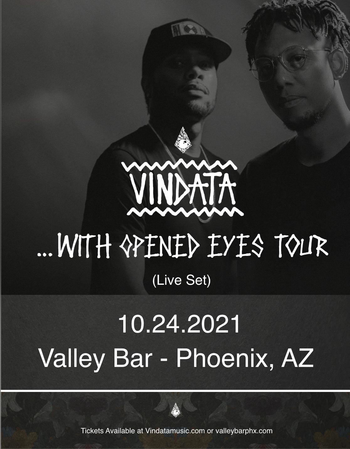 Vindata: With Opened Eyes Album Tour: Main Image