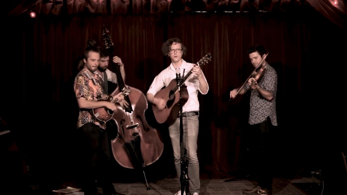 Michael Daves Quartet (Hargreaves, Jake Jolliff & Alvar):