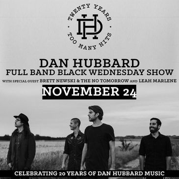 Dan Hubbard- Full Band Black Wednesday Show-img