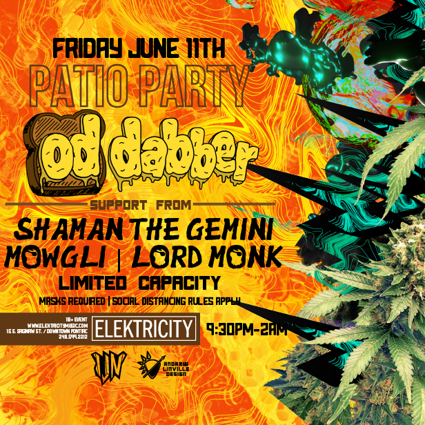 OD DABBER: PATIO PARTY: Main Image