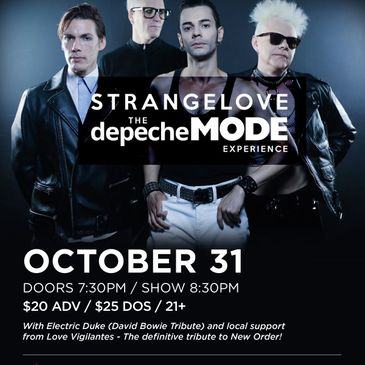 STRANGELOVE - The Depeche Mode Experience-img
