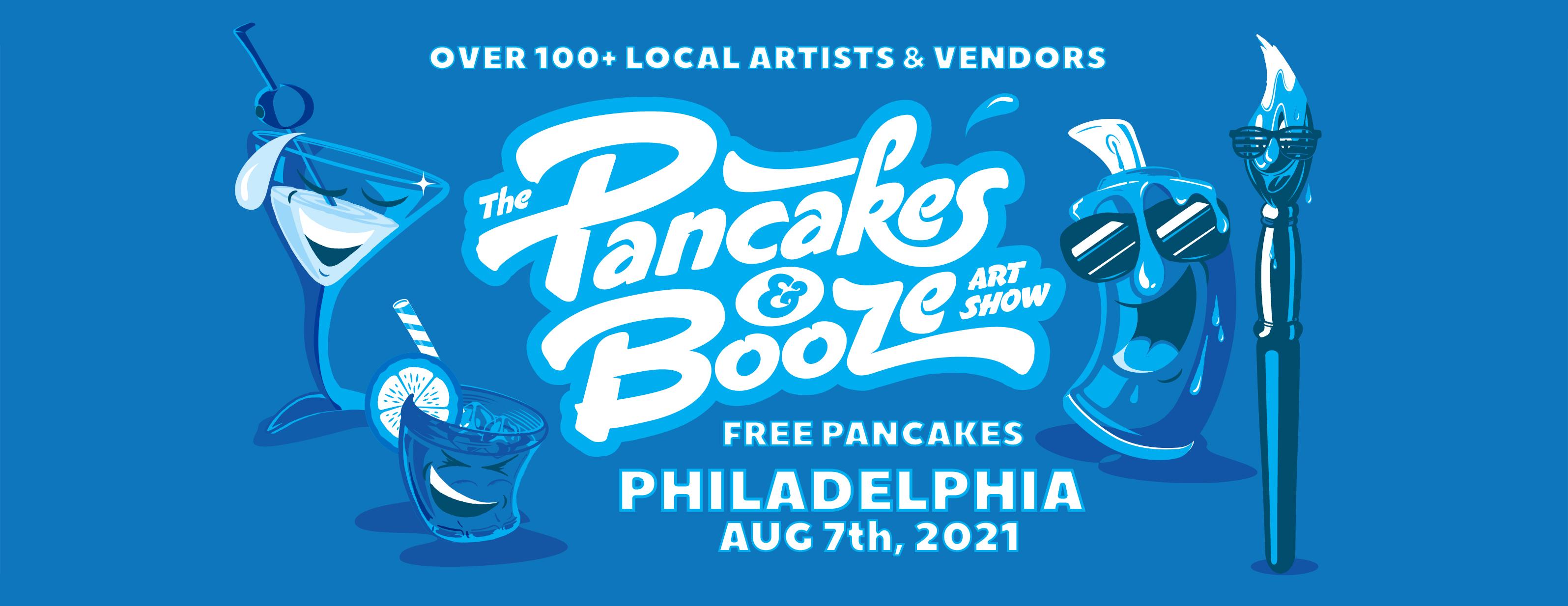 The Pancakes & Booze Art Show: