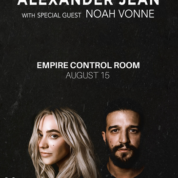 Alexander Jean w/ Special Guest Noah Vonne-img