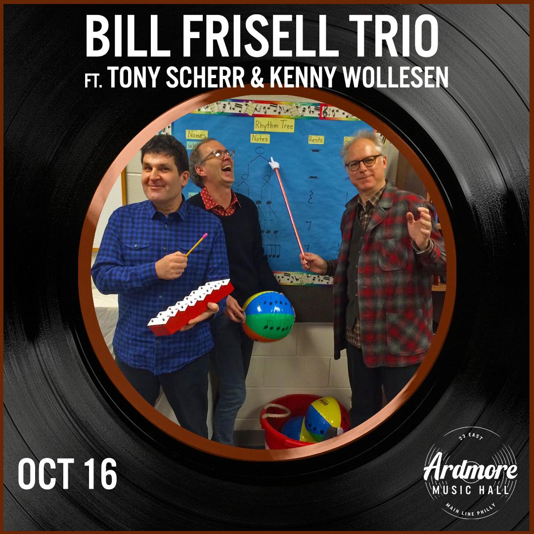 Bill Frisell Trio ft. Tony Scherr & Kenny Wollesen: Main Image