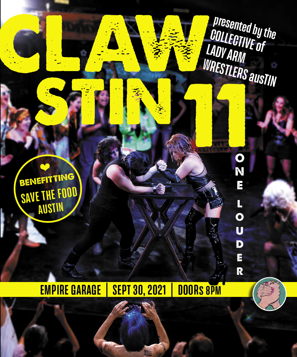 The Collective of Lady Arm Wrestlers Austin: CLAWstin 11:
