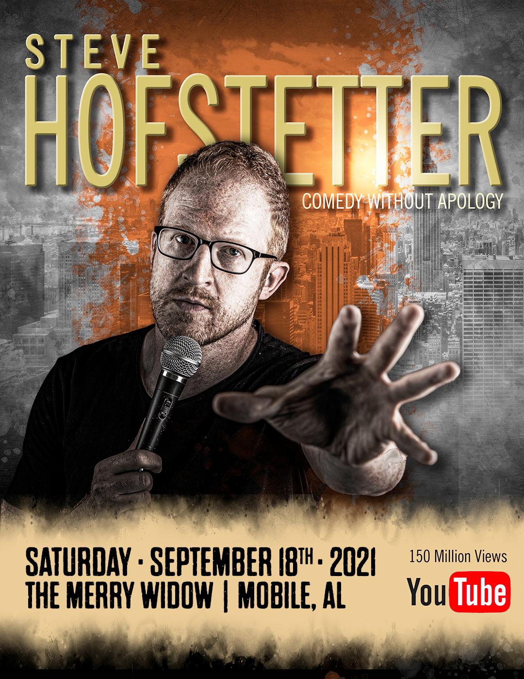 Steve Hofstetter: Main Image