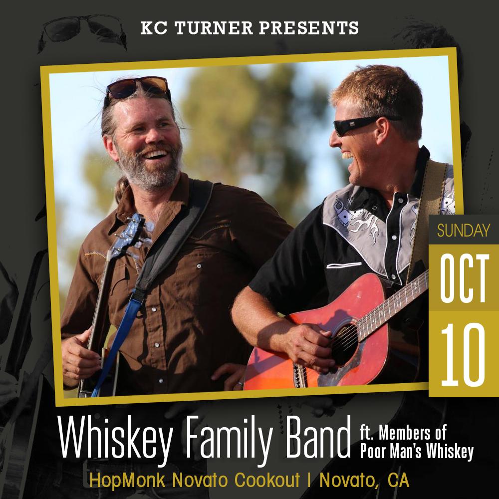 Whiskey Family Band + Josh Brough (Poor Man's Whiskey):