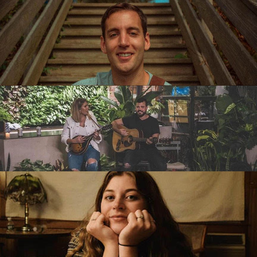 NY Songwriter Round feat. Unruly Mane, Andrew Pierson: