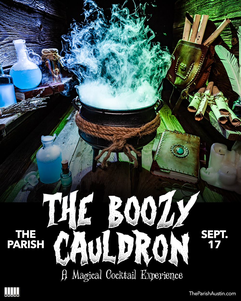 The Boozy Cauldron:
