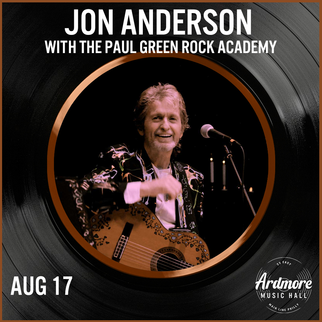 Jon Anderson (of Yes) with The Paul Green Rock Academy: