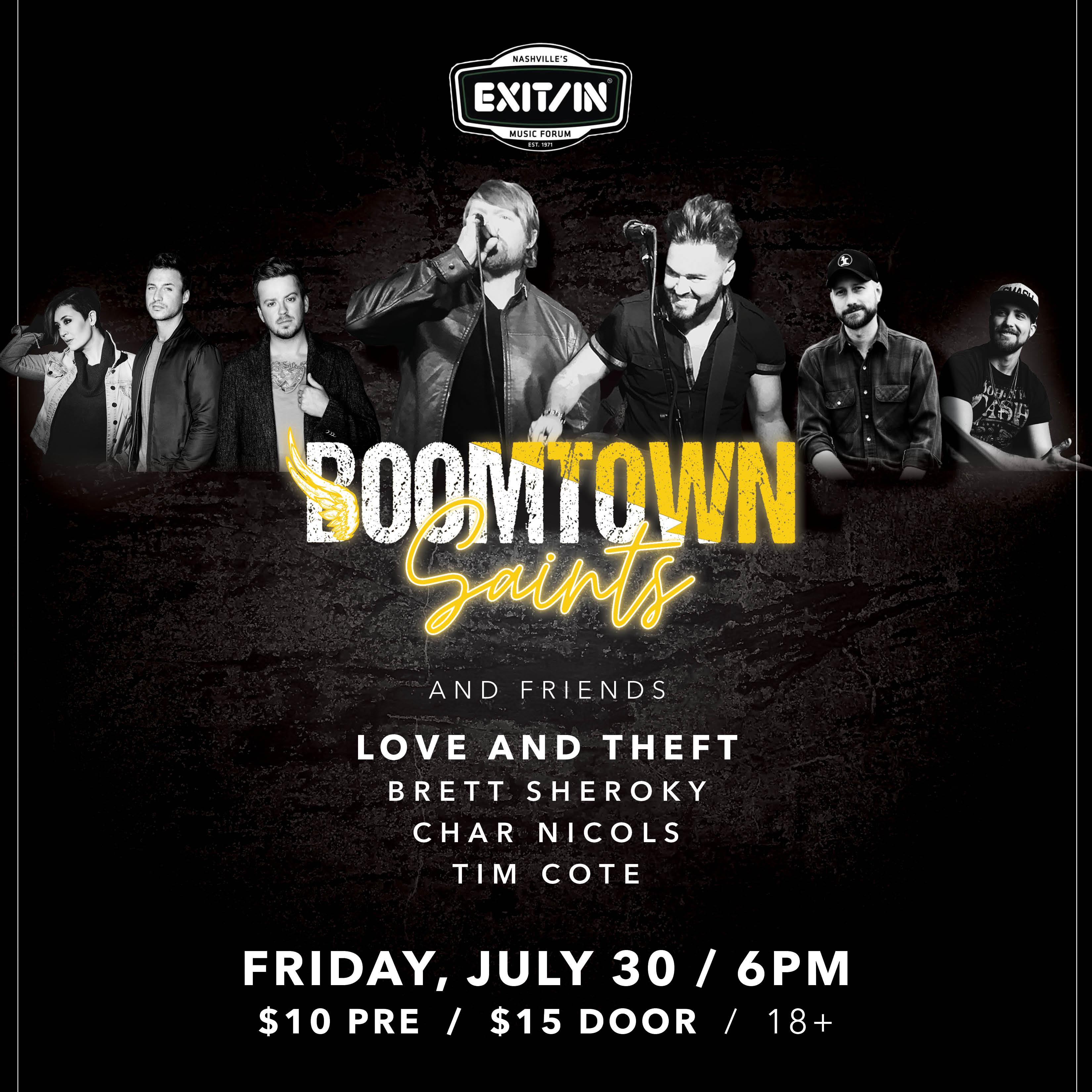 Boomtown Saints: Main Image