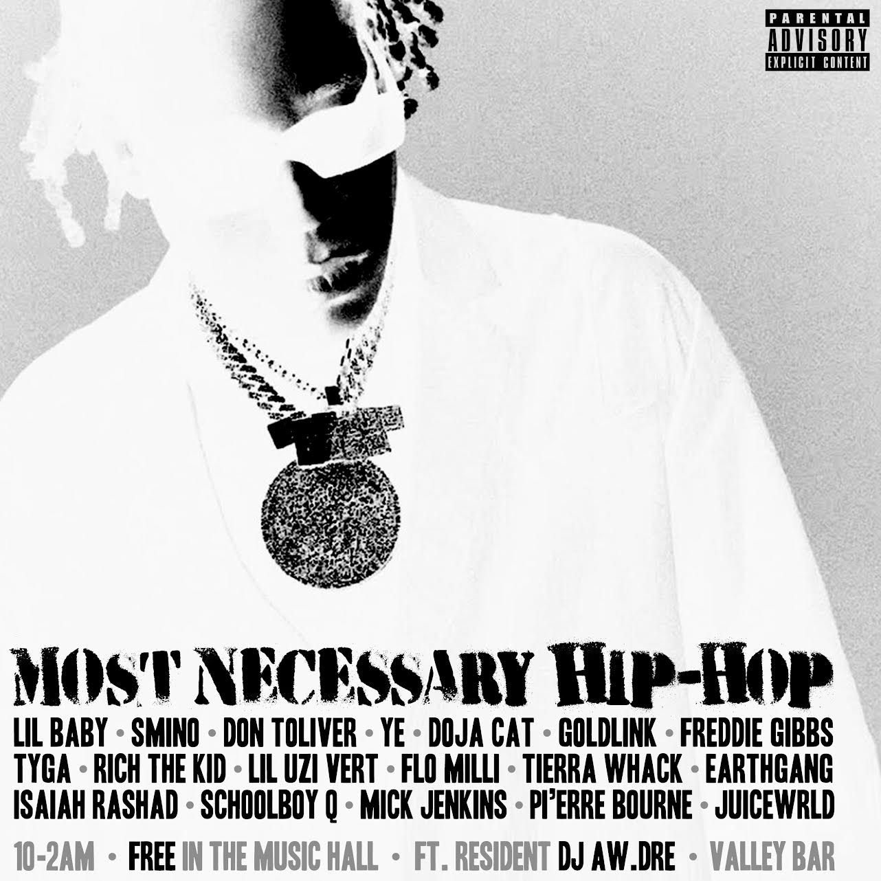 """""""MOST NECESSARY HIP HOP"""" with DJ Aw.Dre:"""