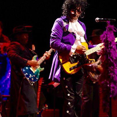 All Star Purple Party featuring Junie Henderson: