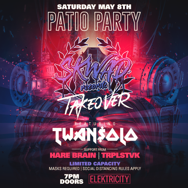 SKWAD TAKEOVER: PATIO PARTY: Main Image