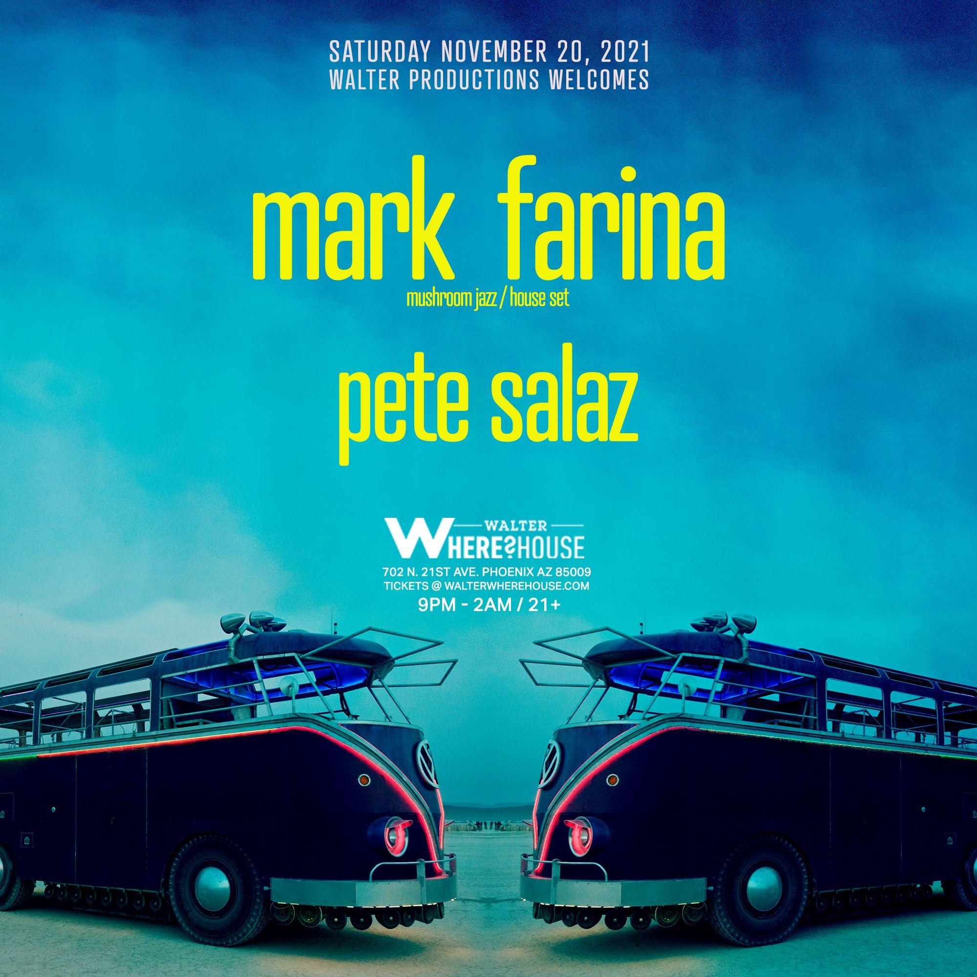 Mark Farina at Walter Where?House: