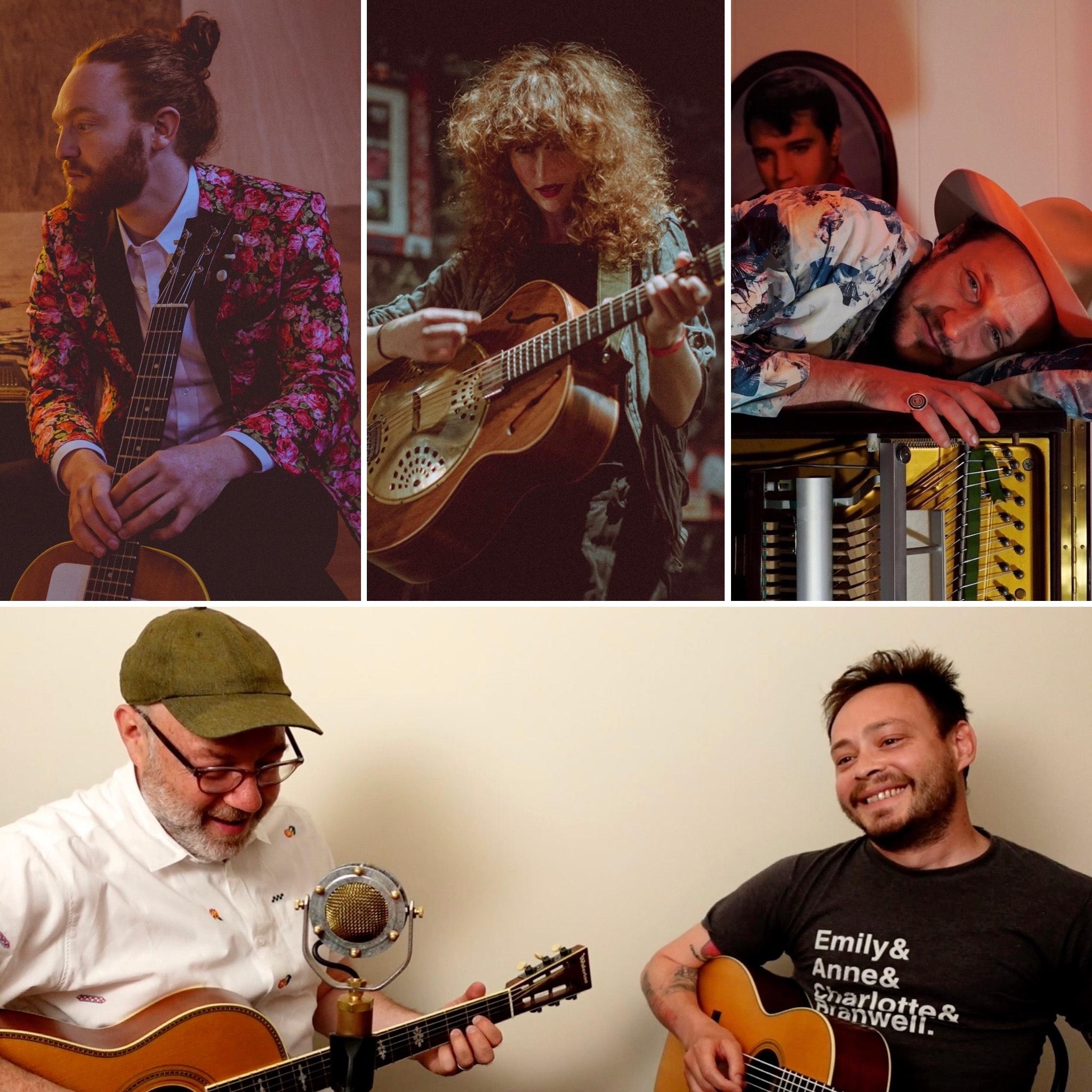 King Dream, Caitlin Gowdey, Adam Levy & Charlie Rauh: