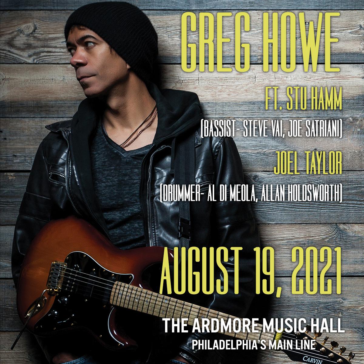 Greg Howe ft. Stu Hamm + Joel Taylor: Main Image