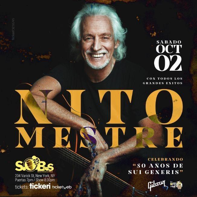 Nito Mestre: