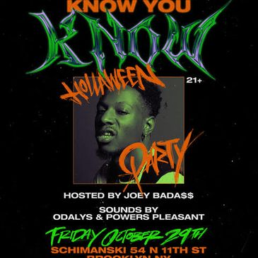 If You Know You Know Hollaween Party-img