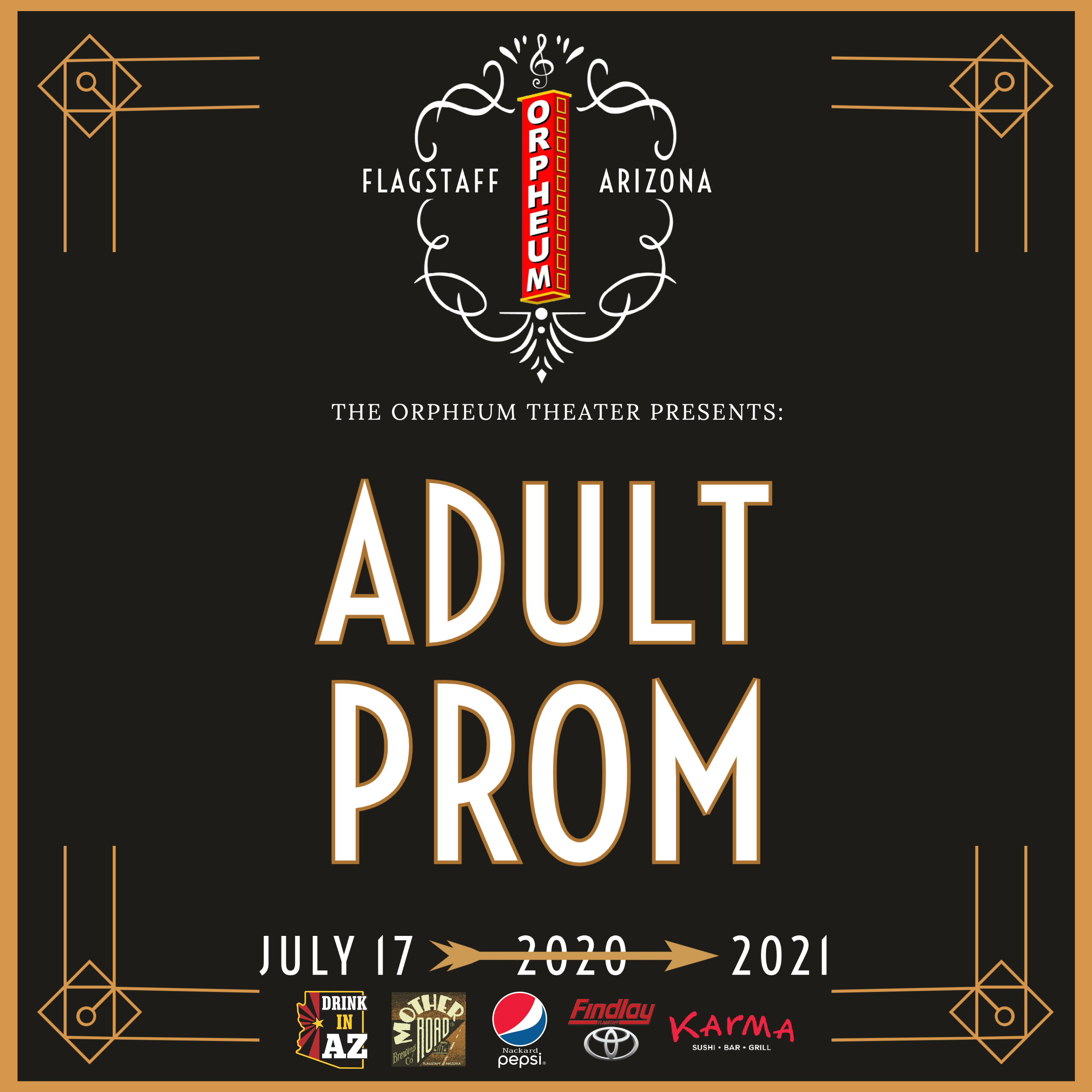 Adult Prom: A Benefit For Flag Bike Party, SOLD OUT: