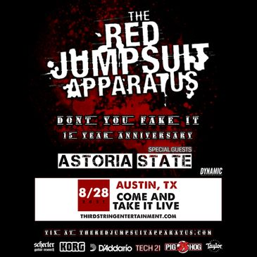 Red Jumpsuit Apparatus - Austin-img