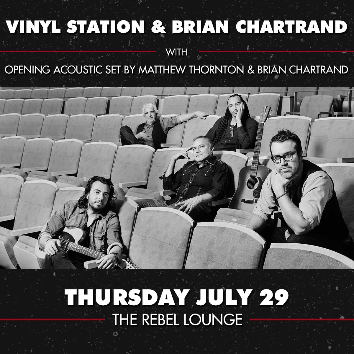 VINYL STATION and BRIAN CHARTRAND: