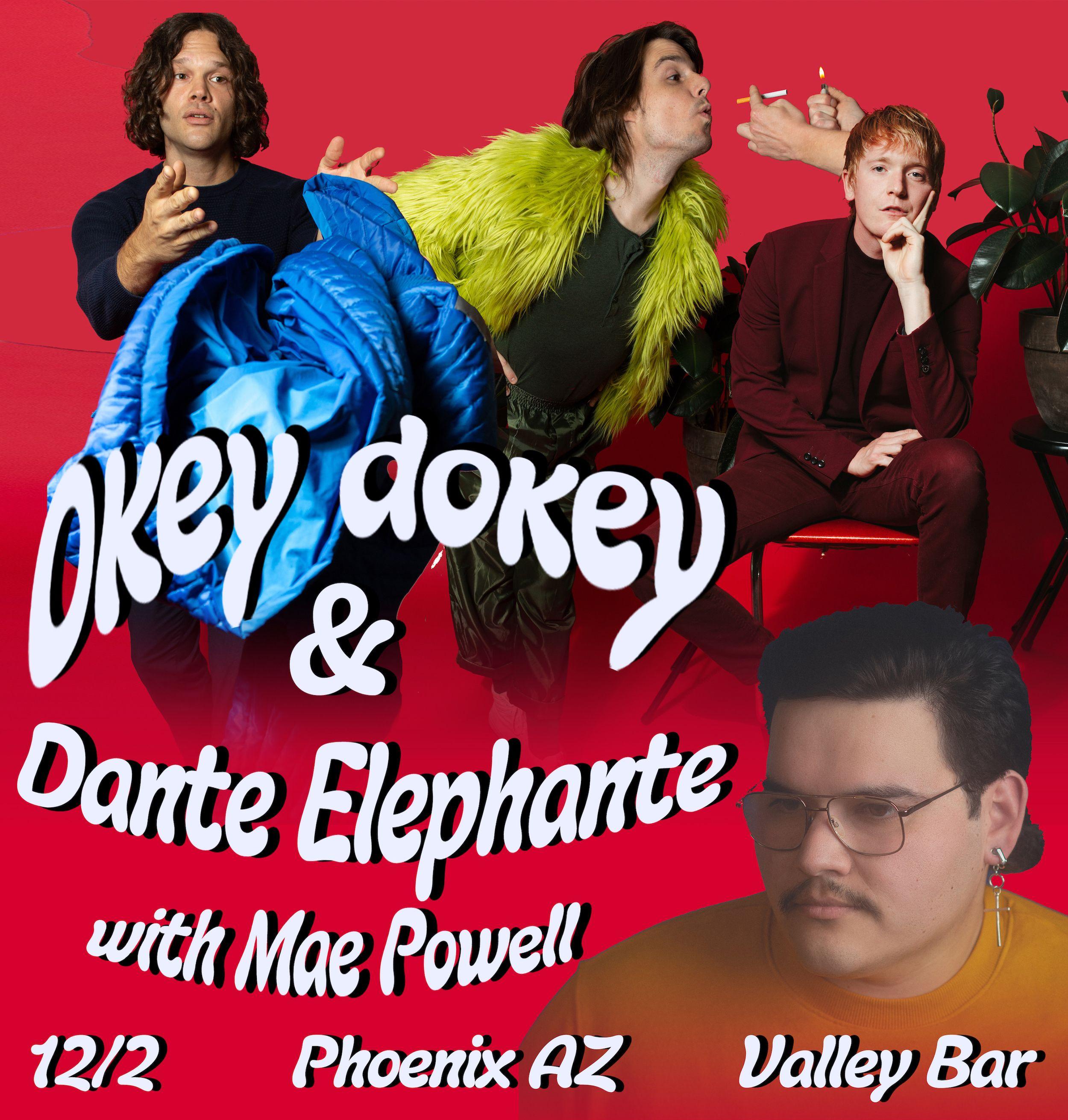 Okey Dokey + Dante Elephante: