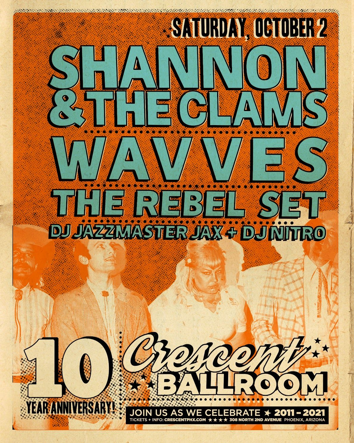 Shannon and the Clams, Wavves, The Rebel Set: