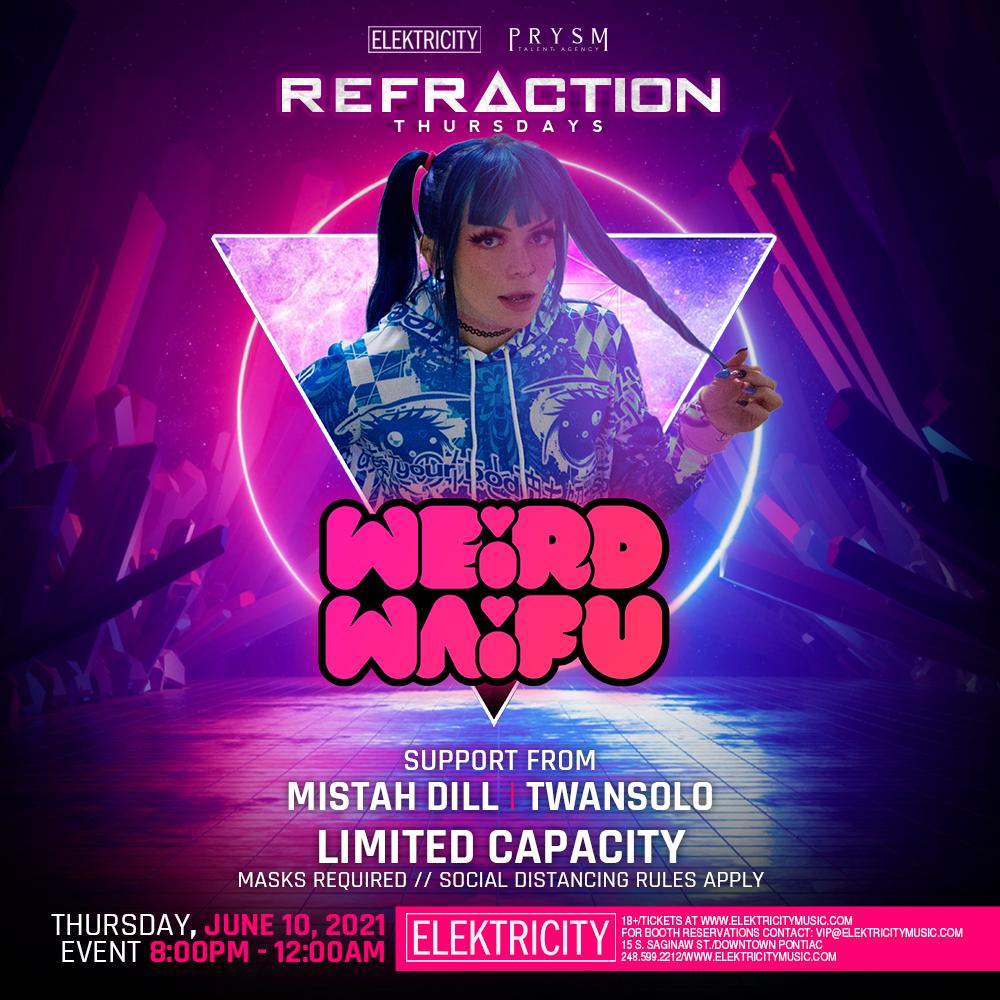 REFRACTION THURSDAYS: WEIRD WAIFU: Main Image