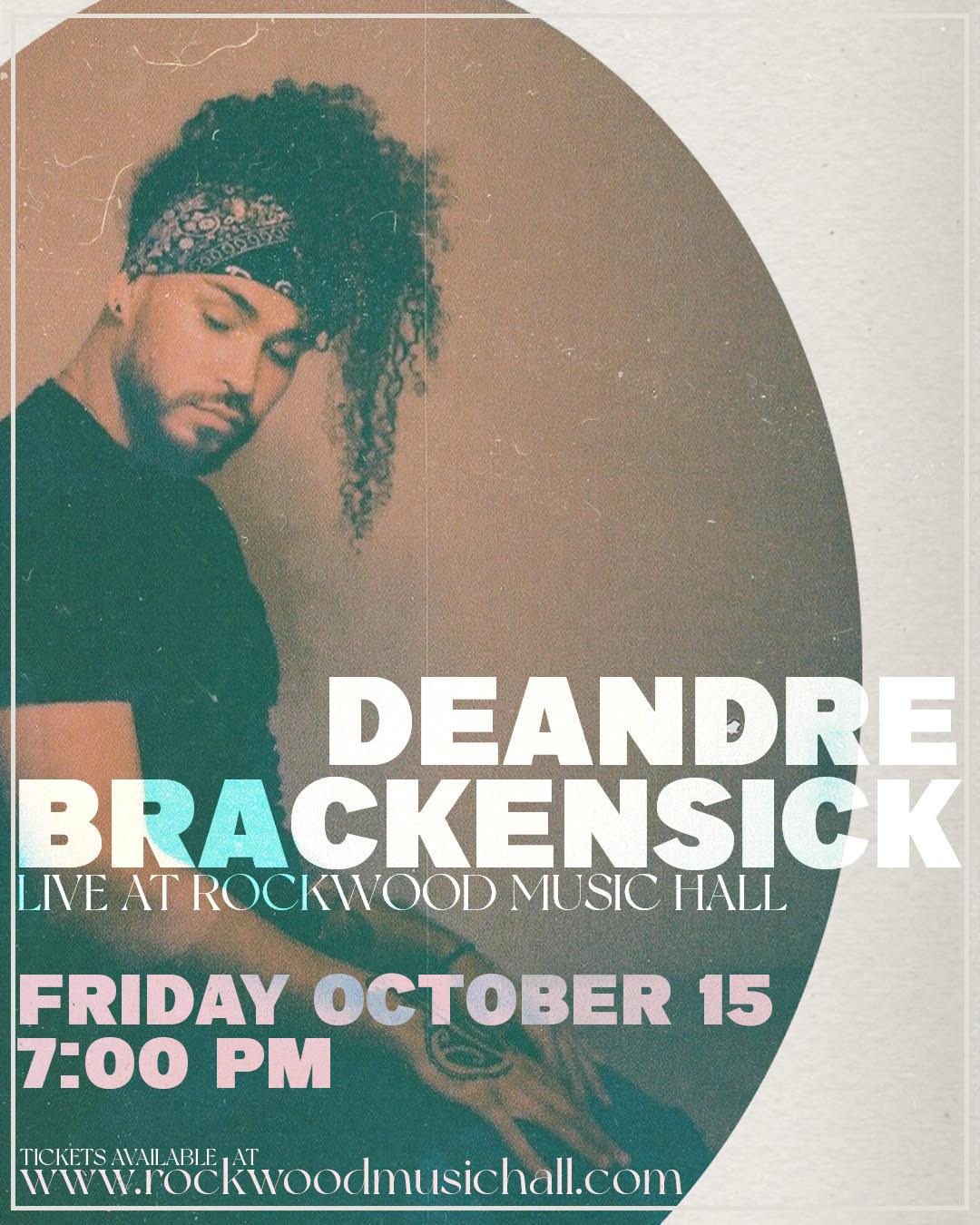 DeAndre Brackensick: