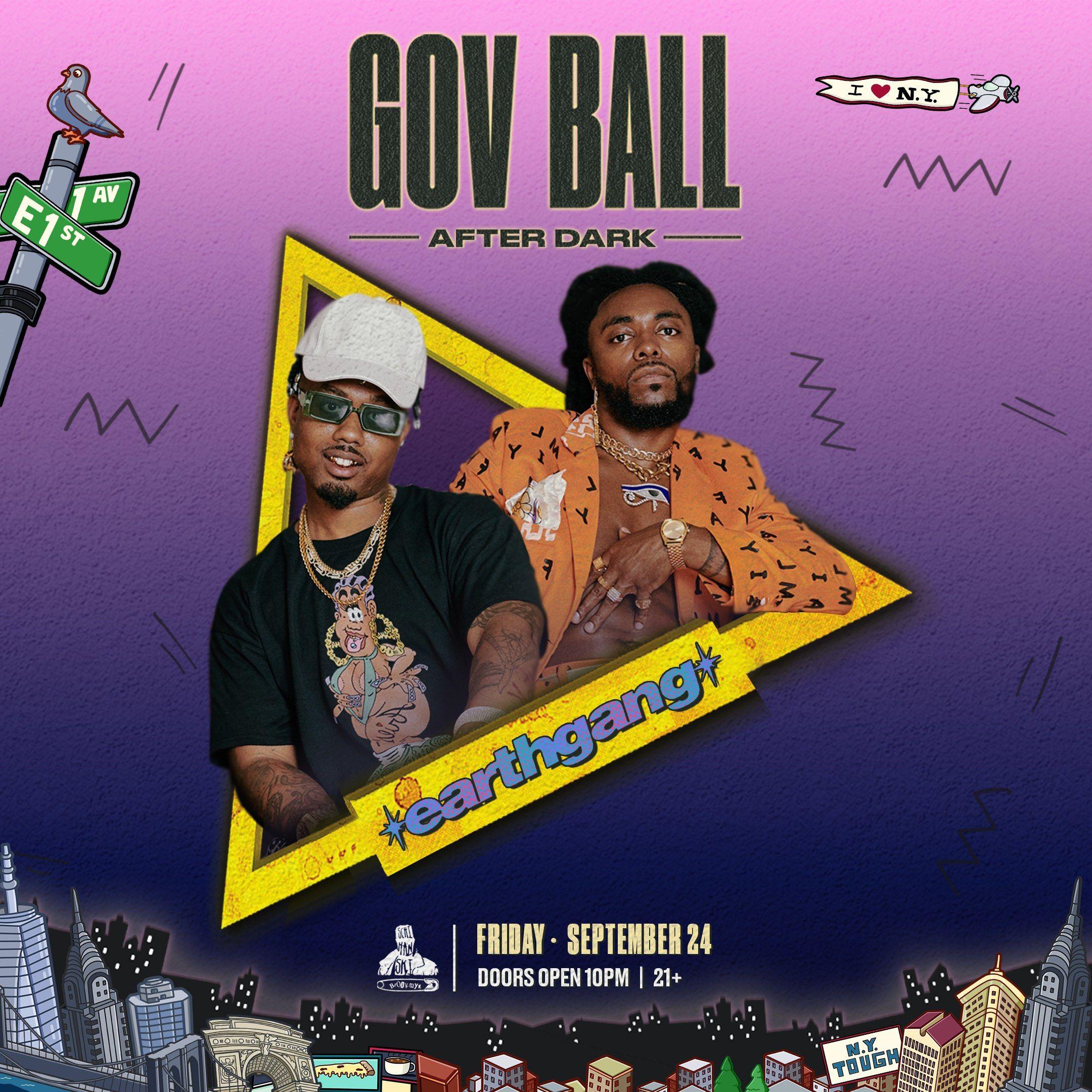 Gov Ball After Dark Presents: Earthgang: