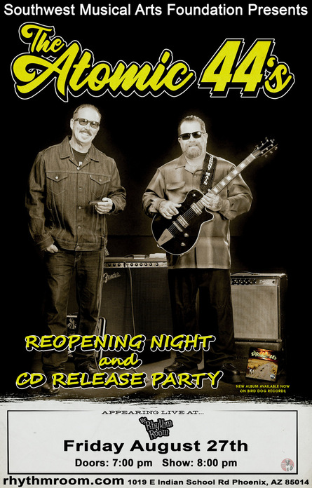 Reopening Night and CD Release Party!:
