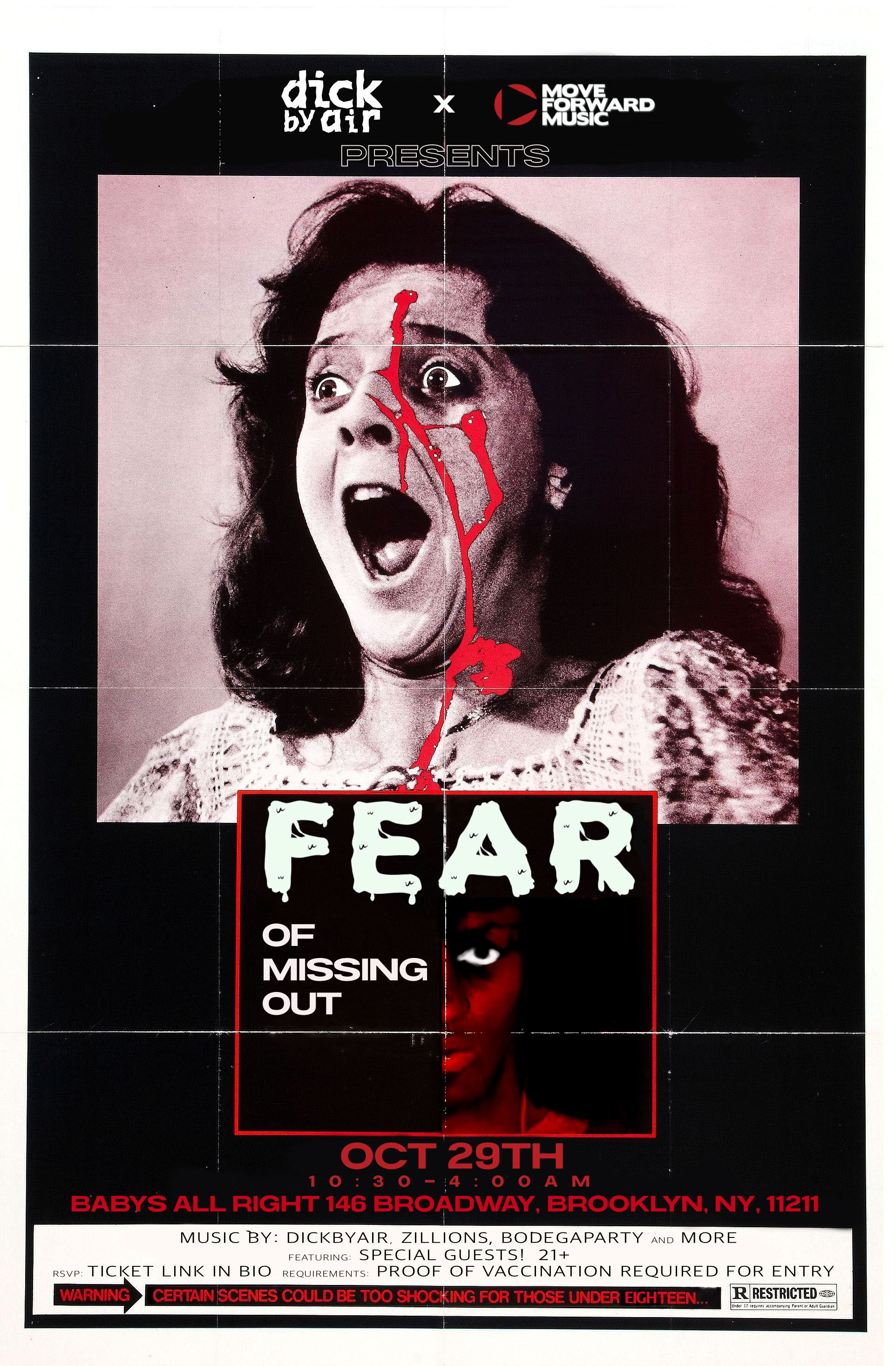 FEAR (of missing out):
